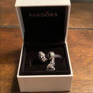 Two pandora charms!